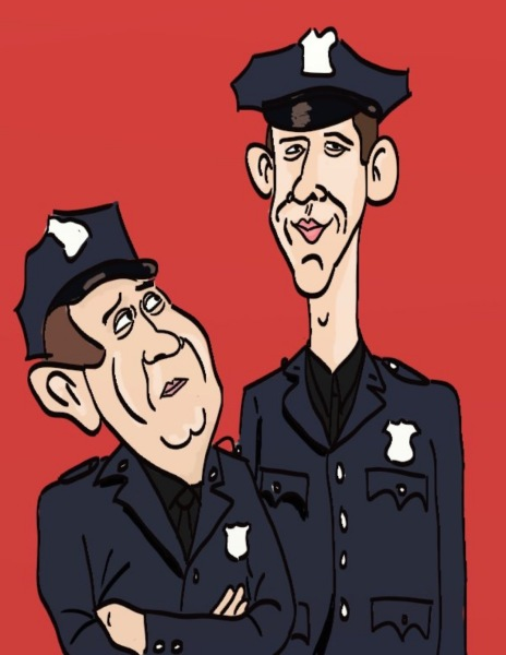 Officers Toody and Muldoon from Car 54!