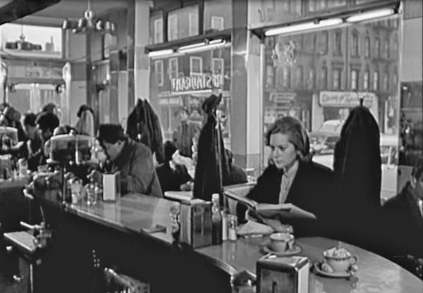 The luncheonette seen was also used by Naked City for an extended scene.